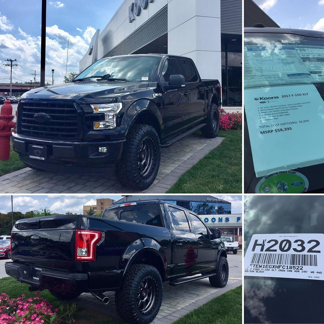 2017 Ford F 150 Xlt 3 5l V6 Ecoboost 4x4 Supercrew Custom Ford Fordf150 Koonsford Annapolis Fordfamily Bla Ford Trucks F150 All Terrain Tyres Ford F150