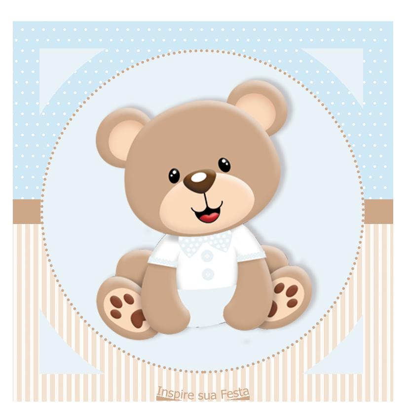 Bebe Ursinho Png ~ inspiresuafesta com wp content uploads 2017 09 Tag redonda personalizada gratis cha de bebe