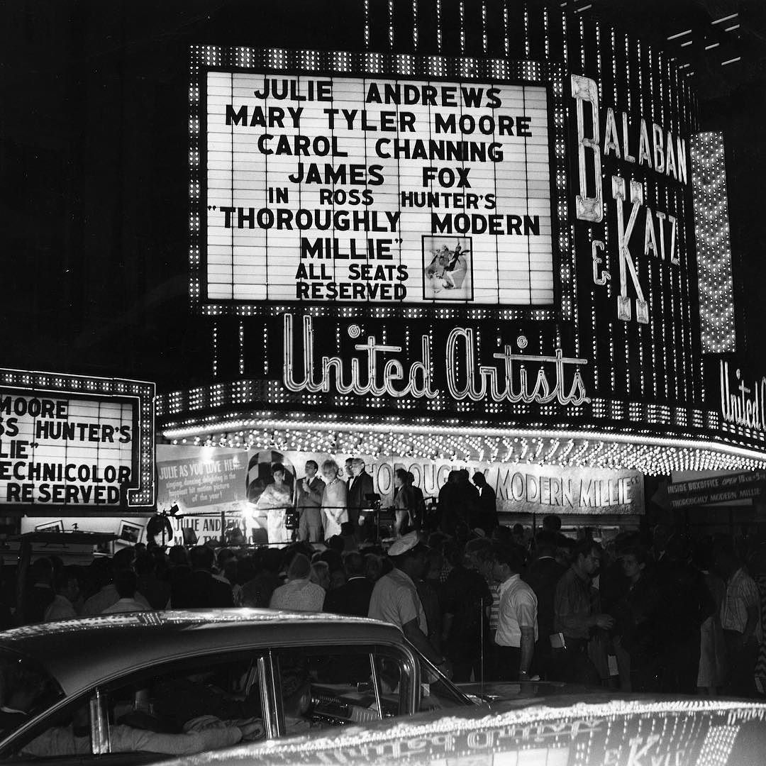 United Artists movie theater 45 W. Randolph during the