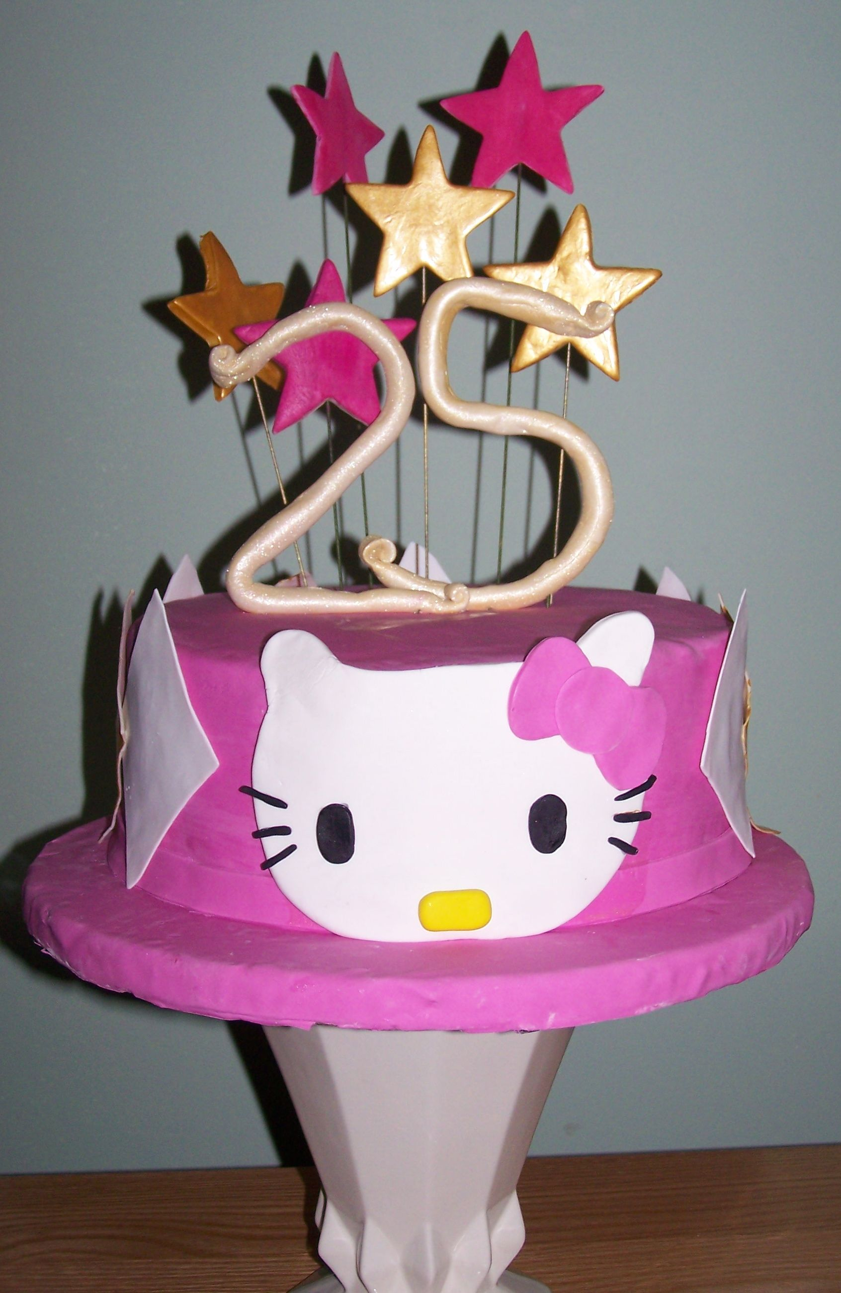 Happy Birthday Pictures Cakes Wishes 25 Years Old