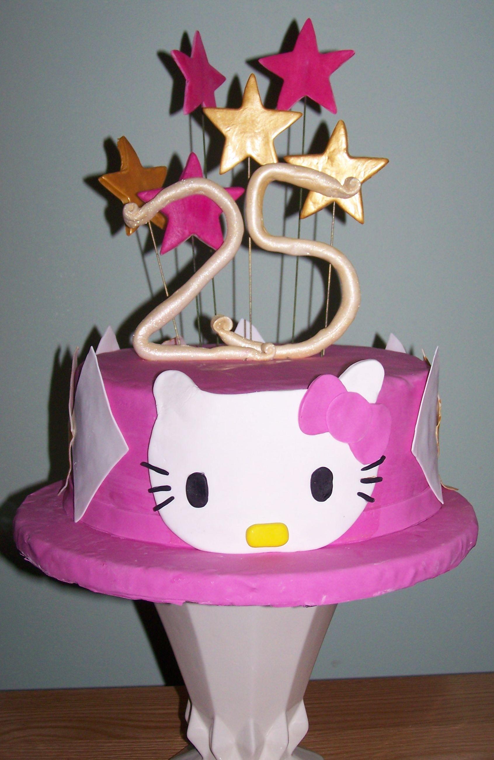 Happy Birthday Cake 25 Years Old