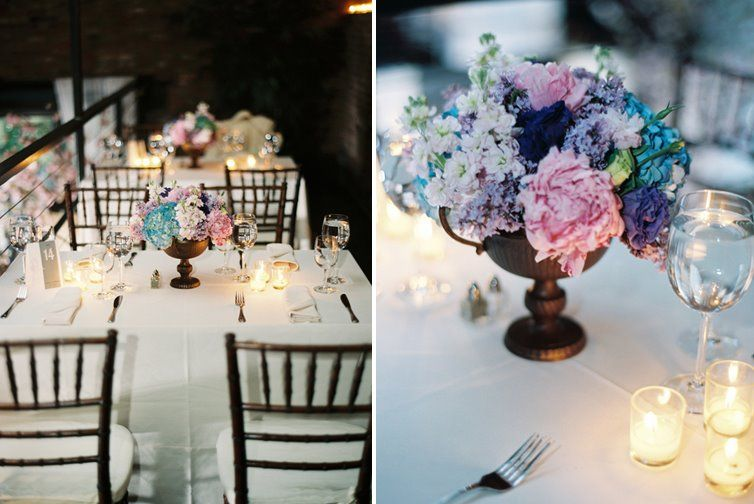 Beautiful Wedding Flowers From Celebrate Pink Blue