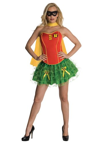 Sexy Robin Corset costume #Halloween #Batman Halloween Costumes - female halloween costume ideas