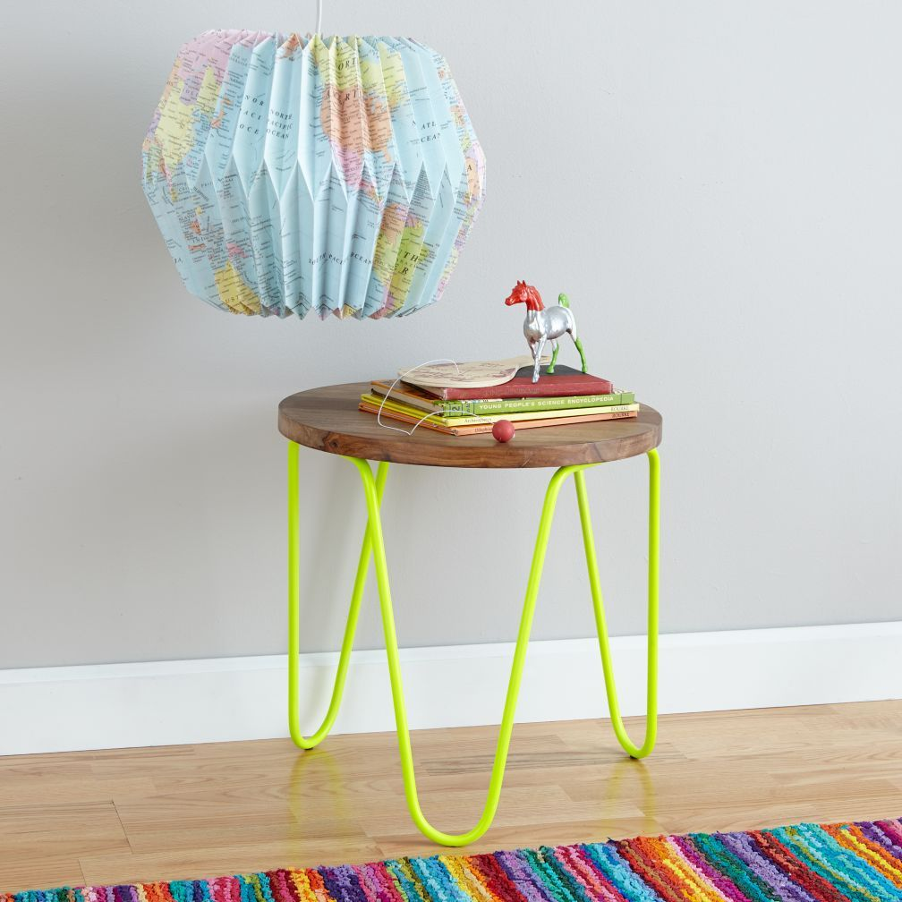 Neon nightstand neon yellow nightstands kids rooms and room house geotapseo Choice Image