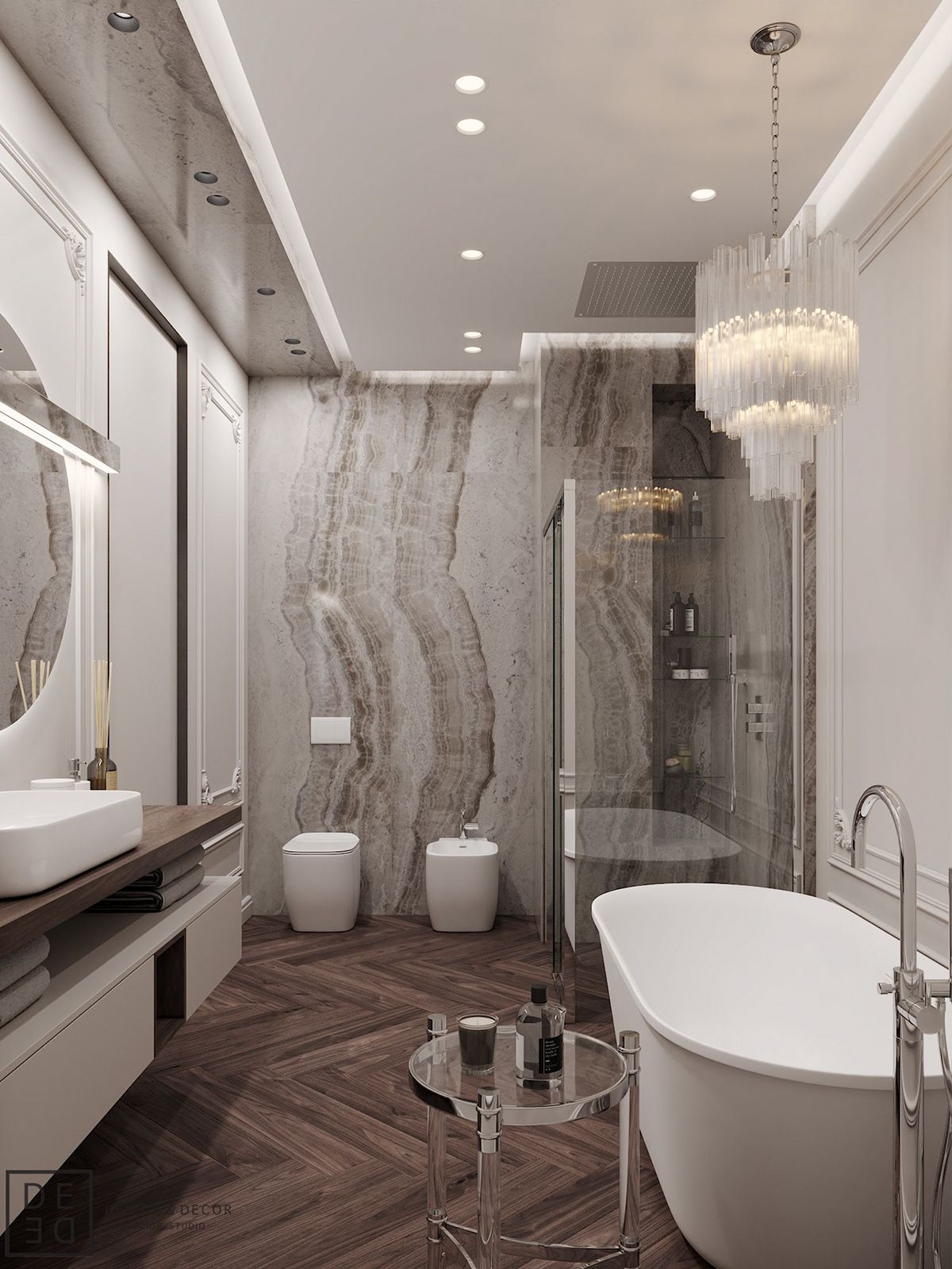 De De Blueberry Flat On Behance Housewashroomdesign Bathroom Design Luxury Bathroom Design Small Bathroom Interior Design New classic bathroom design