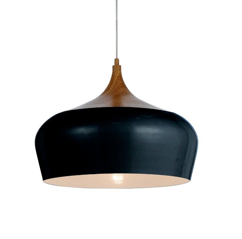 Polk 460mm Black Oak Pendant
