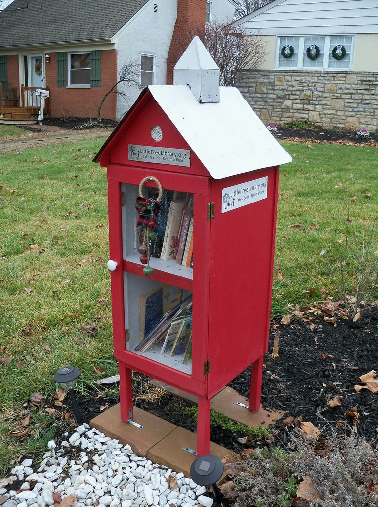 OH Columbus - Little Free Library 8