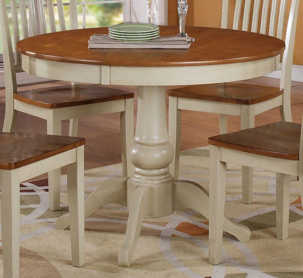 100 white round kitchen table with leaf  best furniture