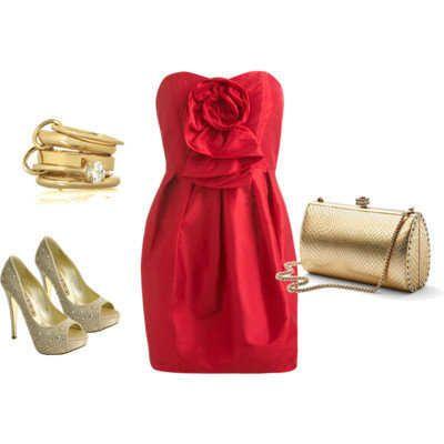 703e696d32 ¿Qué zapatos me pongo con un vestido rojo