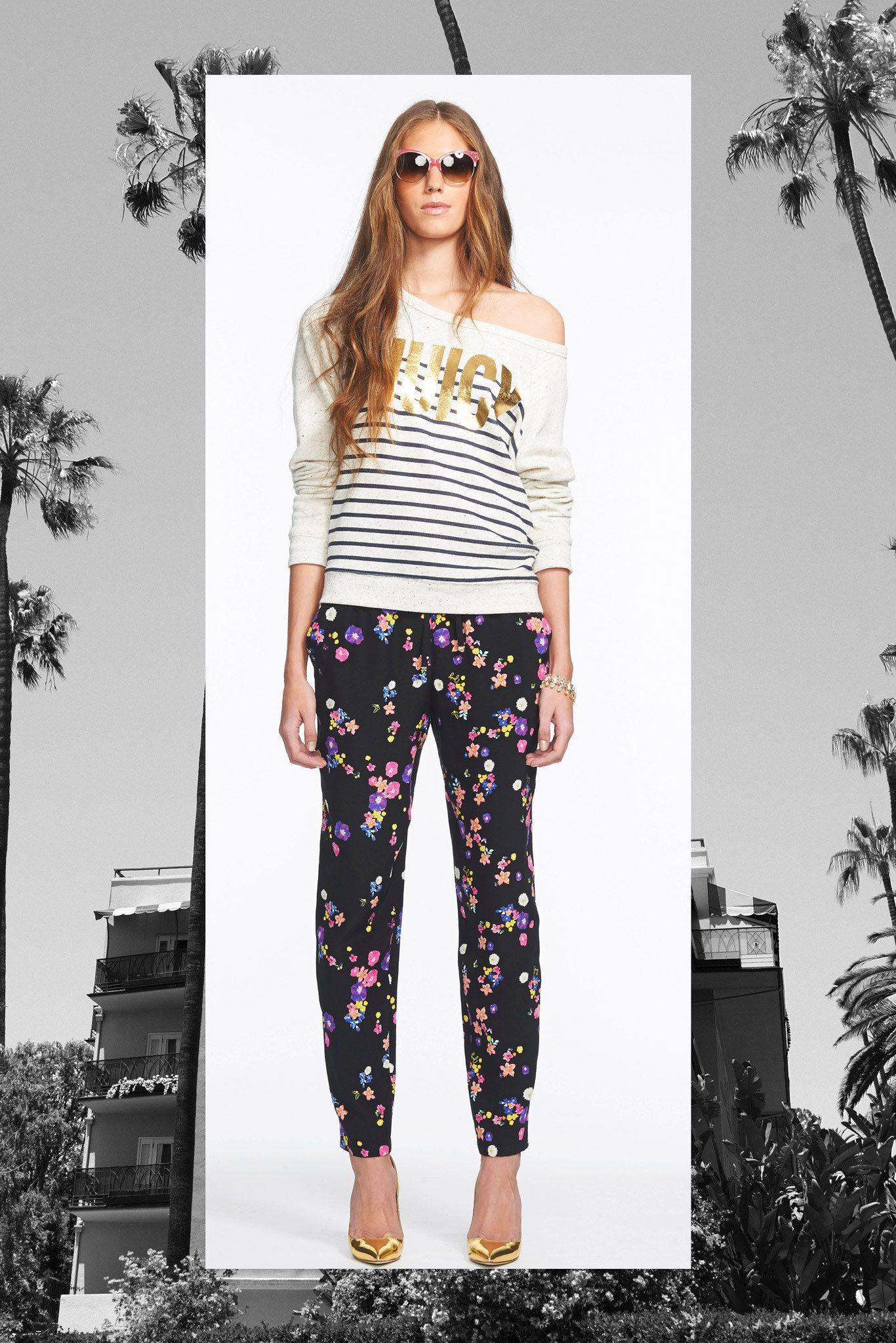 Juicy Couture Spring 2014 Ready-to-Wear Collection Photos - Vogue