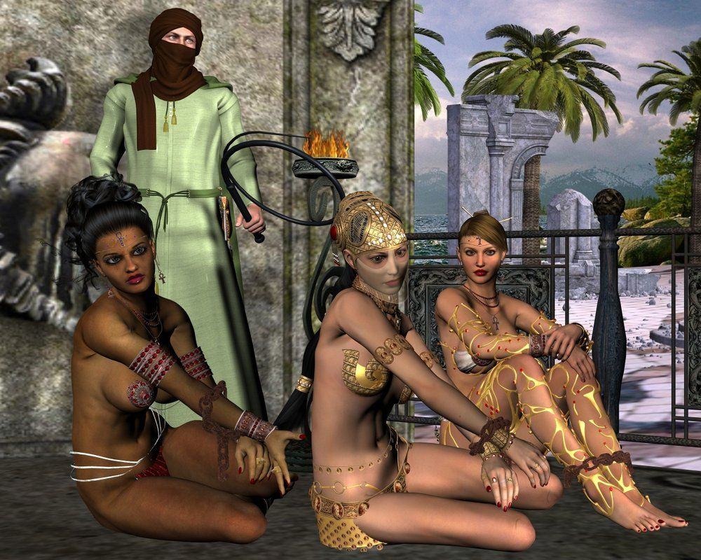 Naked woman white slave In Pictures: Islam's
