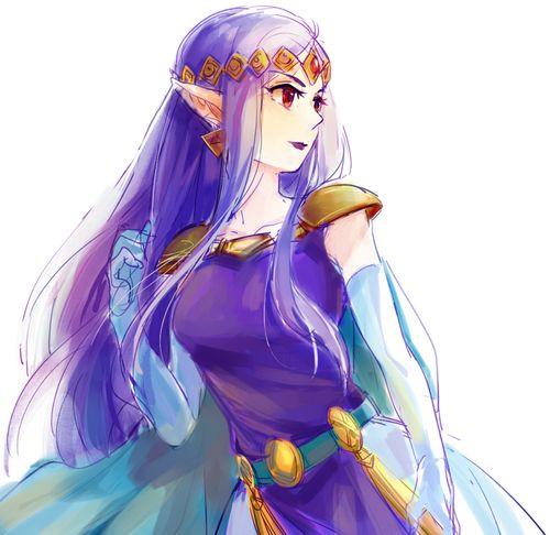 Princess Hilda - The Legend of Zelda A Link Between Worlds