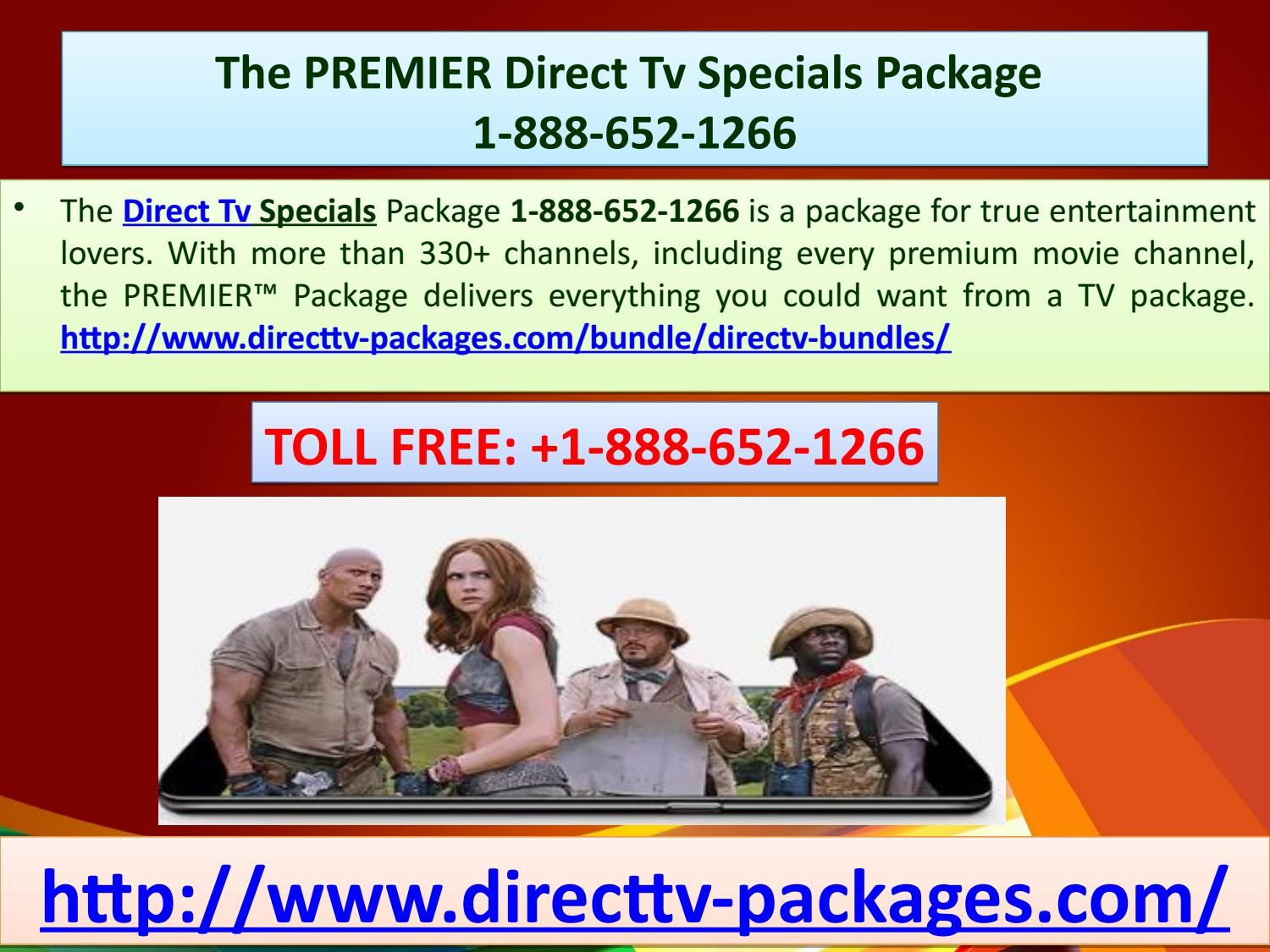 The PREMIER Direct Tv Specials Package 18886521266
