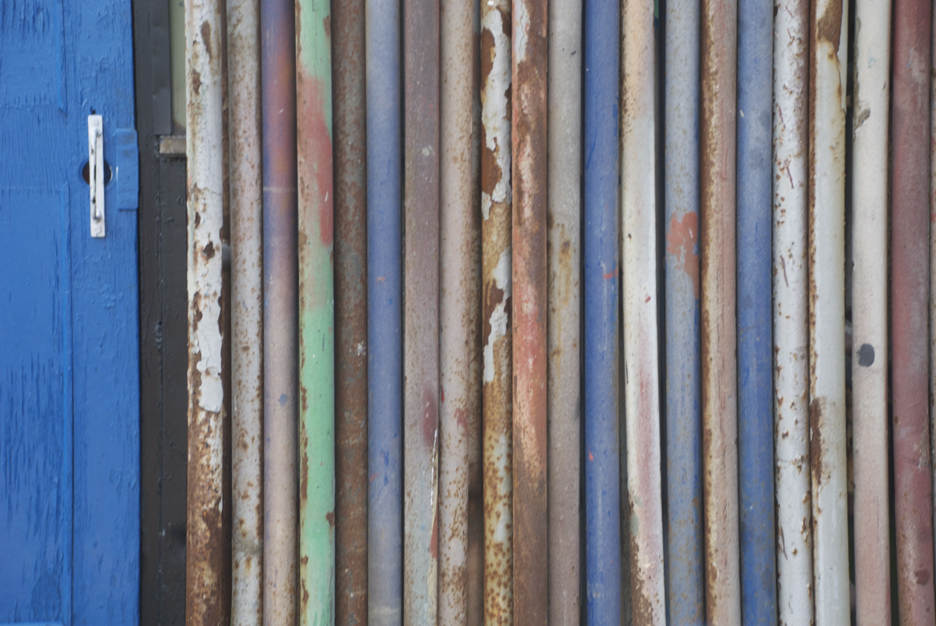 Painted steel tubes in Gloucester, MA