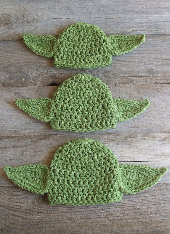 Chunky Yoda Hat \