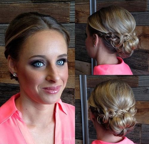 Easy Homecoming Hairstyles For Straight Hair : 60 updos for thin hair that score maximum style point low buns