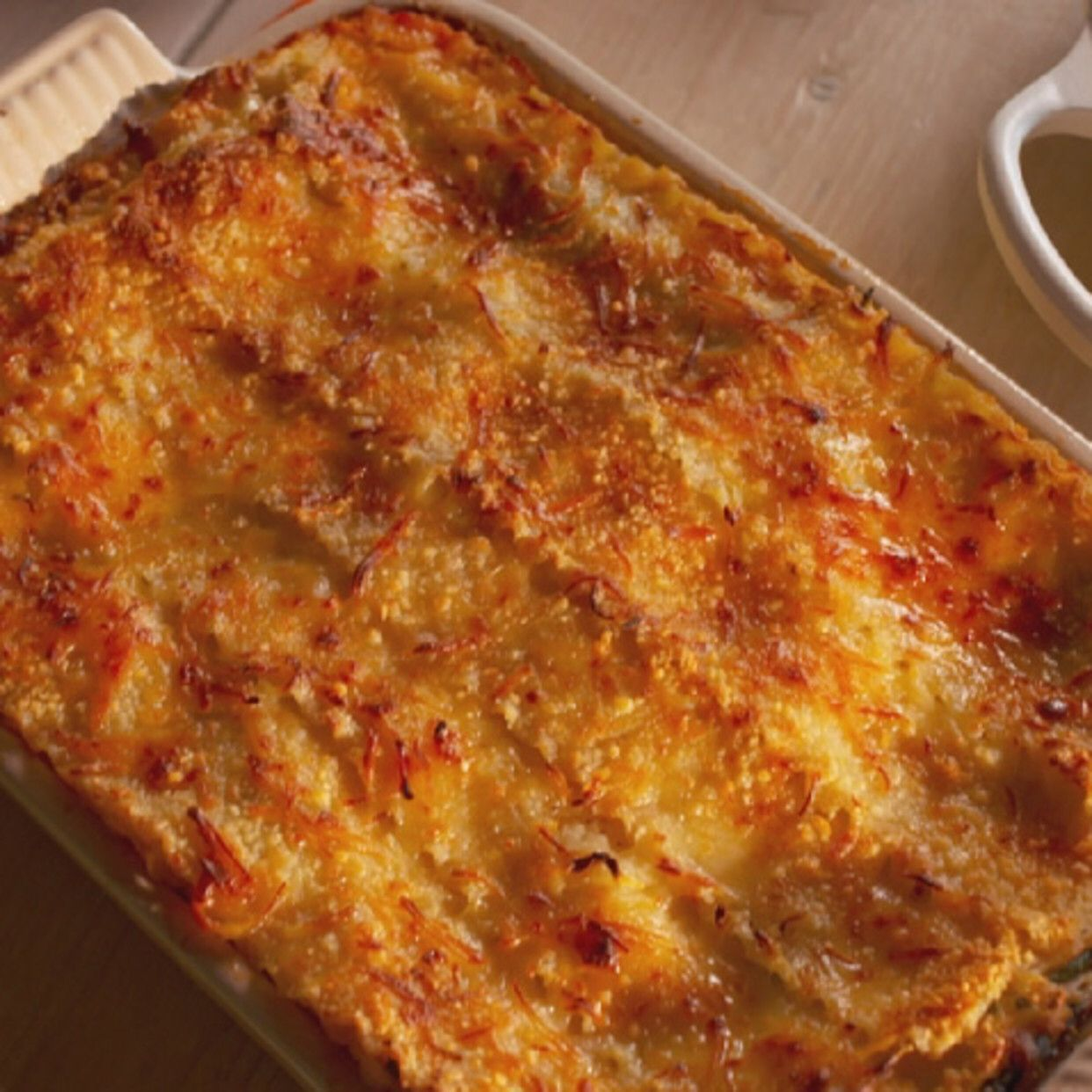Fresh Vegetable Lasagna with Spinach and Zucchini Recipe