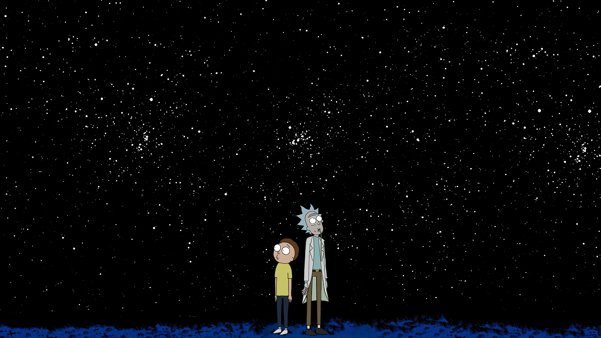 Rick And Morty X Calvin And Hobbes Imgur Background Images Wallpapers Cartoon Wallpaper Rick And Morty