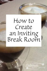 How to Create an Inviting Break Room images