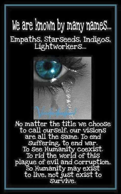 Empaths are known by many names    | Empath | Indigo
