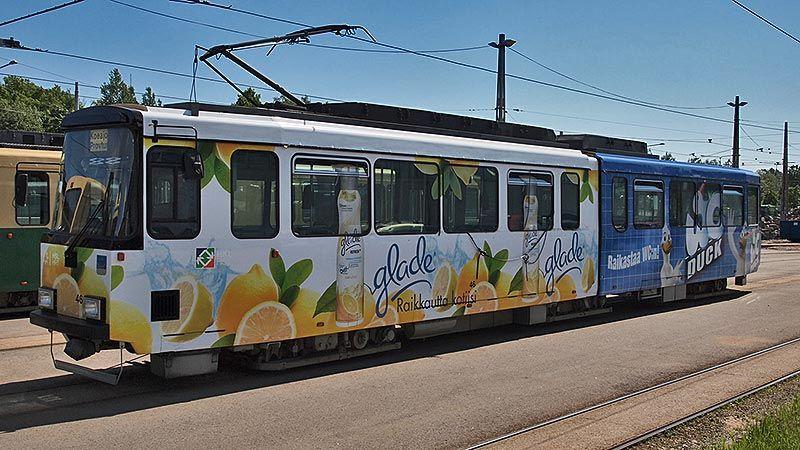 Lemon tram Helsinki 2012