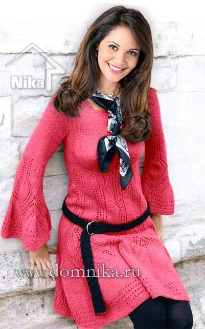 вязаные платья фото | Платья, Вязанное платье, Платье-свитер