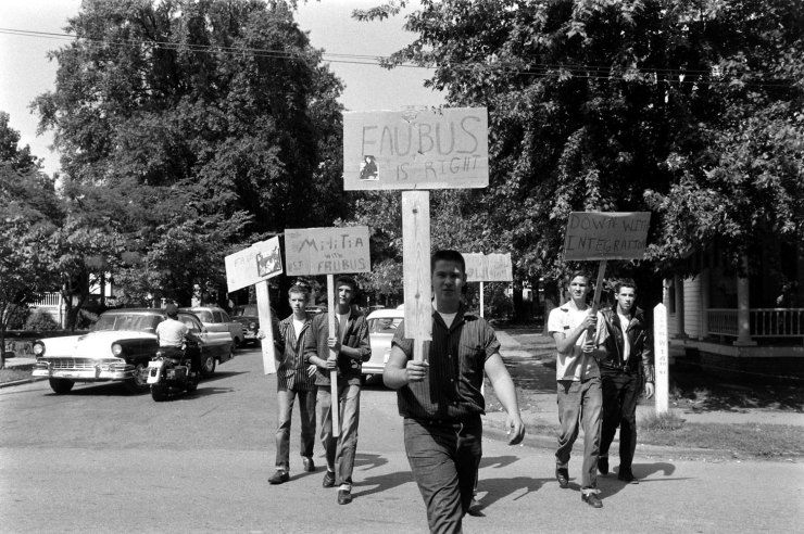 Strong Not Published In Life Strong Segregationists Picket In