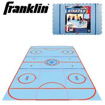 Franklin Shot Zone Hockey Rink Pad 7926 Hockey Room Hockey Hockey Rink
