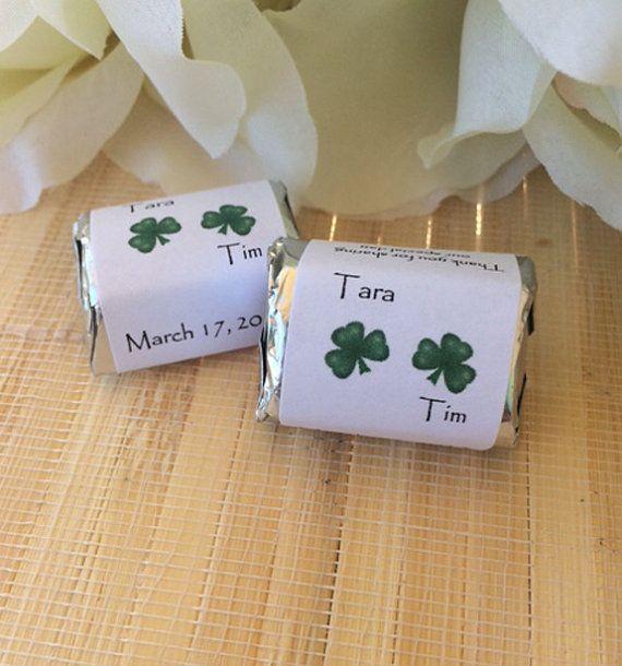 Irish Wedding Gift Ideas: Irish Wedding Favors, Irish Wedding Gift, Four Leaf Clover