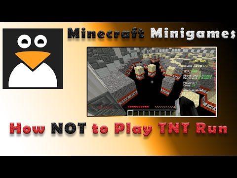 How NOT To Play TNT Run Hypixel TNT Games YouTube Minecraft - Minecraft tnt spiele