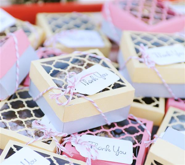Project Center Wedding Favor Boxes DIY Pinterest Favours