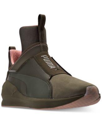 Puma Women s Fierce Nubuck Naturals Casual Sneakers from Finish Line ... 83c50e9bc