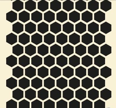Bijenkorf patroon