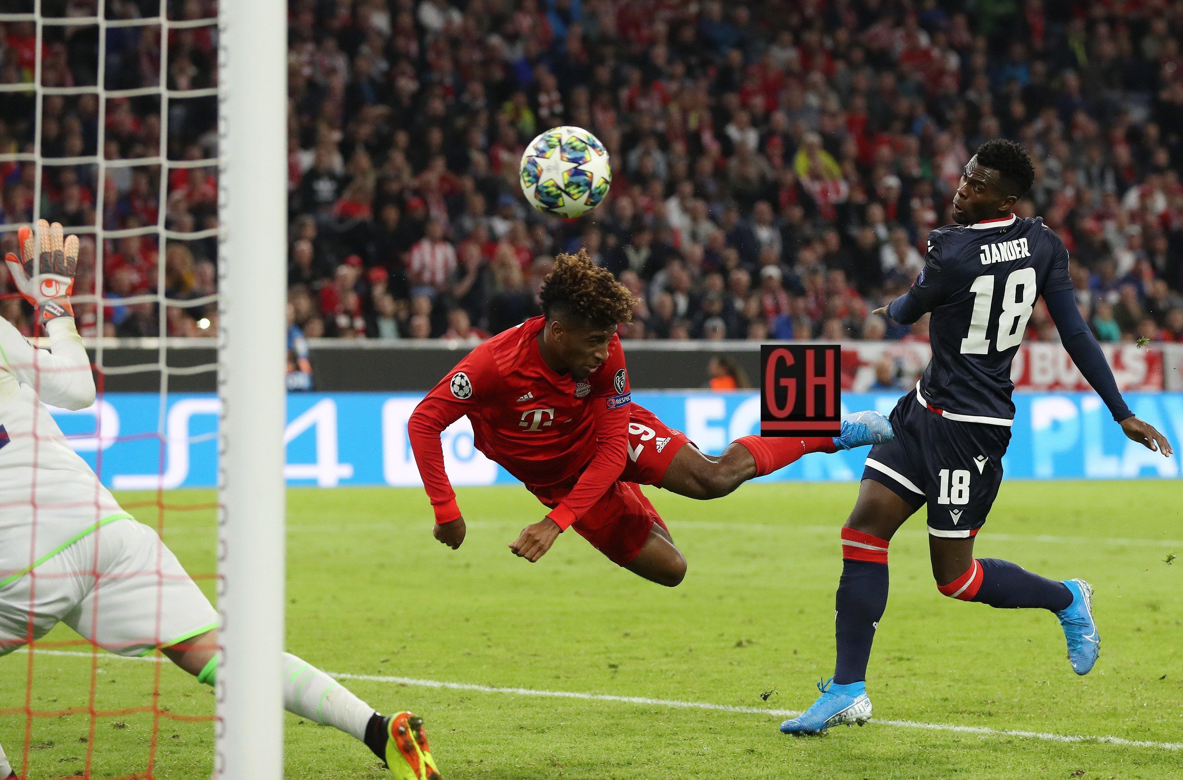 Bayern Munich 3 0 Crvena Zvezda Uefa Champions League Champions League Bayern