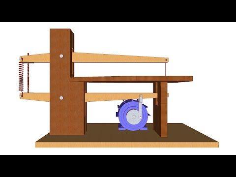 Maquina de marqueter a casera 1 3 partes youtube for Partes de una mesa