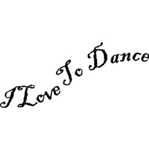 EYE CANDY SIGNS I Love To Dance....Wall Quotes Sayings