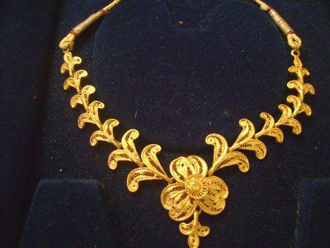 Gold Necklace Jewellerydesigner Gold Jewellery Diamond Pendants