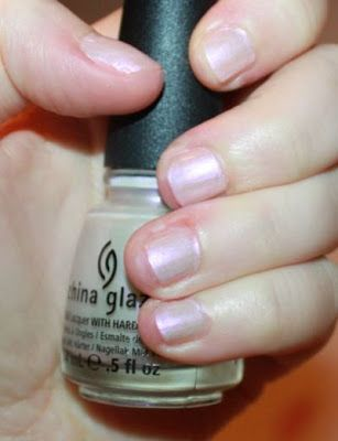 China Glaze Rainbow can be used alone as a sheer application
