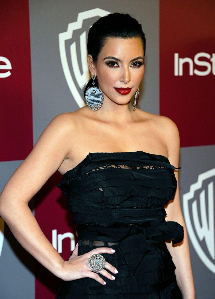 dailyactress: Kim Kardashian - MET Costume | Strapless