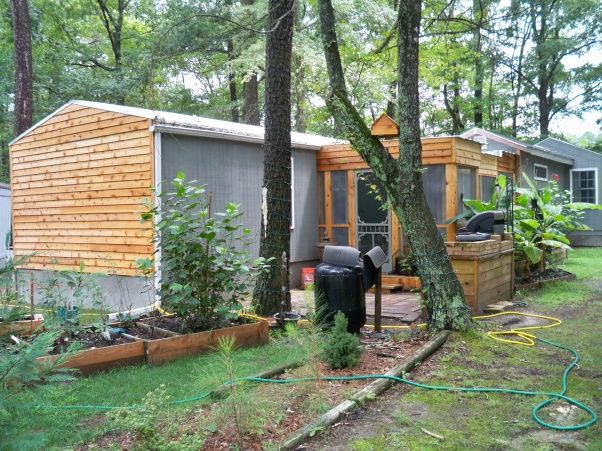 Mobile Home Remodel Complete Completed Outside 2011 Exterior Design