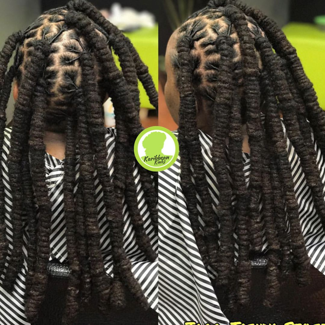 Barrel Roll Updo Done By Our New Addition To Teamkinks Jaggtrendystylez Teamnatural Teamna Mens Braids Hairstyles Dreadlock Hairstyles Black Dreads Styles