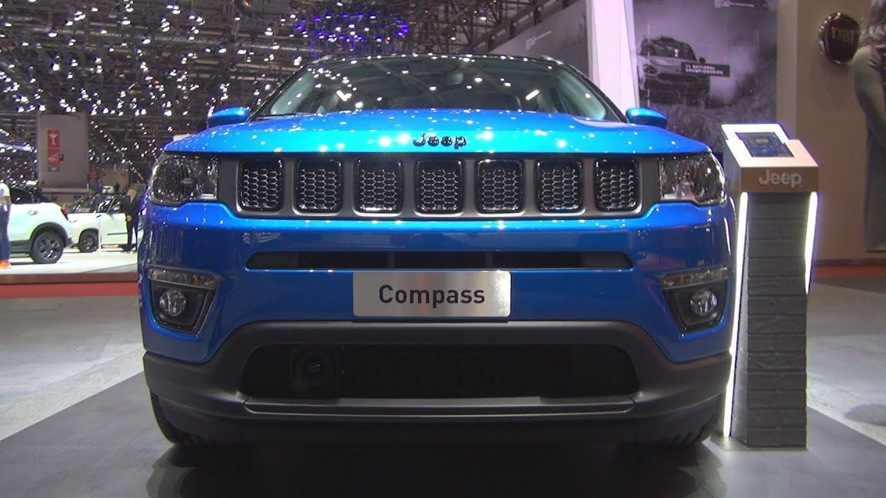 Jeep Compass Night Eagle 1 4 140 Hp Petrol Mt 2019 Exterior And