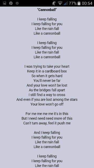 Lyric Cannonball Kiesza Lyrics Songs Just Love