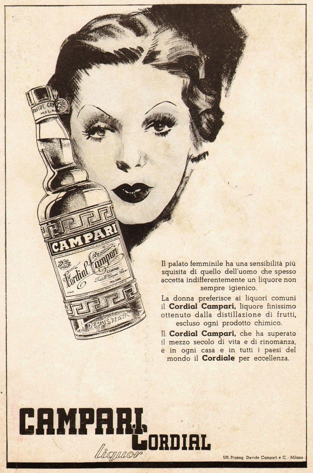 Cordial Campari | Pubblicità, poster, manifesti | Pinterest ...
