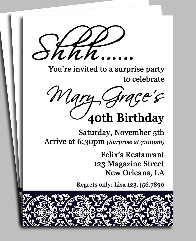 free birthday invitation templates camping   80th Birthday Party ...