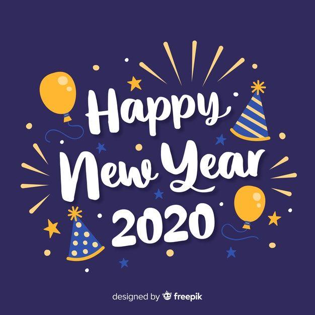 Téléchargez Inscription Bonne Année 2020 Avec Des Ballons Gratuitement In 2020 New Year Wishes Images Happy New Year Greetings Happy New Year Images