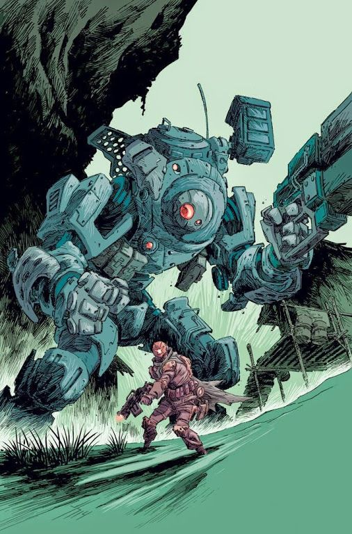 Titanfall fan art by Jason Howard