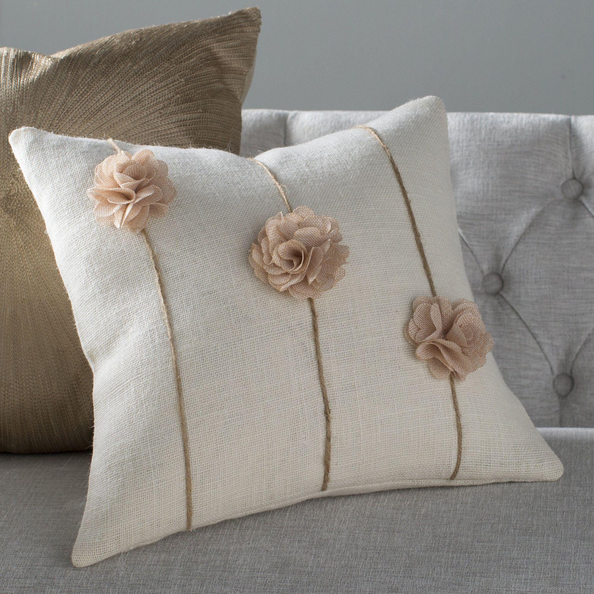 Ashton Pillow Burlap Throw Pillows Pillow Crafts Burlap Pillows