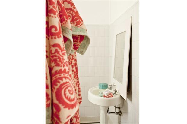 10 propuestas para la bacha del baño - wasserfeste farbe badezimmer
