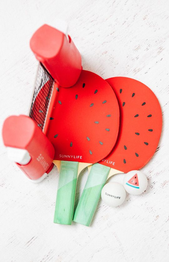 Sunnylife Ping Pong Play On Watermelon Apartment Peppermayo
